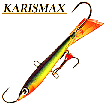 Балансир Karismax Vertical Jigger #1 /80mm /33g /цвет:s15